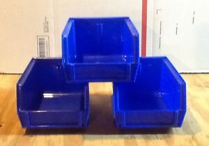 Lot of 3 Reloading Bins Replacement for Dillon Square Deal