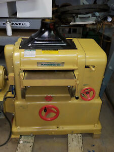 18 Powermatic Usa Planer Mdl 180 With New Byrd Cutterhead Bearings 7 1 2 Hp