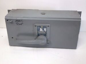 Square D Qmb 3620s Fusible Panelboard Disconnect Switch Saflex Unit 200 amp 600v