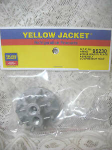 Yellow Jacket Thomas Oil Less Recovery Liquid Head Valve Plate 520ck60