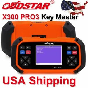 Usa Shipping Obdstar X300 Pro3 Master Auto Programmer Immo With Odometer Eeprom
