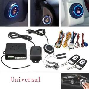 13 Function Immobilizer Rfid Car Alarm Start Security Keyless Entry Push Systems