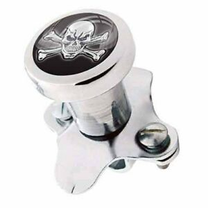 Polished Steering Wheel Spinner Suicide Brody Knob Rod Car Truck Skull Bones