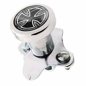 Polished Steering Wheel Spinner Suicide Brody Knob Rod Car Truck Iron Cross