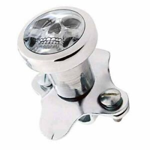 Polished Steering Wheel Spinner Suicide Brody Knob Rod Car Truck Skull Face