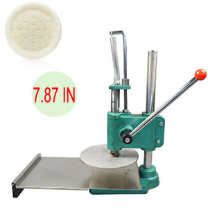 Pizza Crust dough base Pastry Manual Press Machine Roller Sheeter Pasta Maker Ce