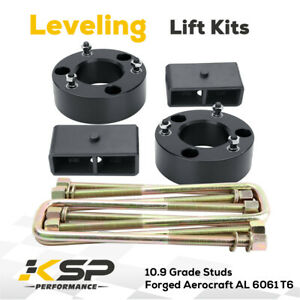Leveling Lift Kit 2 5 Front 2 Rear For 2007 2019 Chevy Silverado Sierra 1500