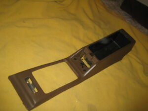 Datsun 280zx Coupe Floor Console Shell Brown Color 1979 1983