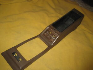Datsun 280zx 2 2 Floor Console Shell Brown Color 1979 1983