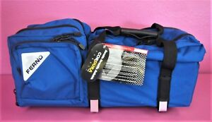 New Ferno Jumbo D Size Emergency Oxygen Airway Supply Bag Carry Case Ems Emt
