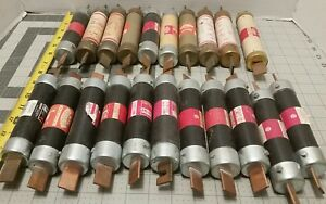 Electrical Fuses Wholesale Lot Of Qty 20 600v Pierce Fusetron Shawmut