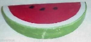 Alabaster Stone Marble Watermelon Slice Fruit Italy Hand Made Painted