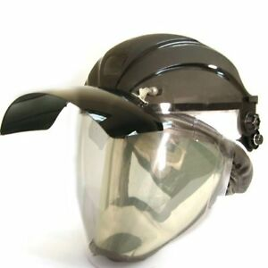 Arcone Cf hv fir5 Hard Hat With Ir5 Flip Front Browguard And Suhha
