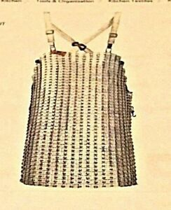 Ultra Lamex Chain Mail Meat Or Fish Cutters Saftey Apron