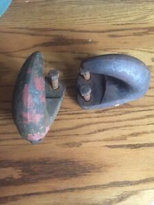 1953 1954 1955 1956 Ford Truck Optional Tow Hooks F100 Pickup Panel F250 Rare
