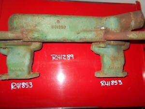 R41289 R41853 Late 4020 And 4000 Water Manifold And Stands By John Deere