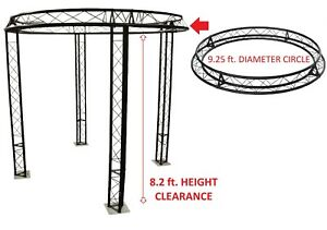 9 2 Ft Diameter Trade Show Exhibition Booth Trusses Dj Stage Metal Circle Truss