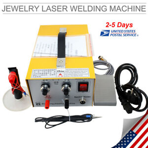 Jewelry Welding Machine Electric Pulse Sparkle Spot Welder Jewelry Tool Us Ship