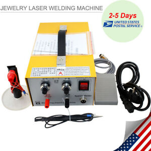 Pulse Sparkle Spot Welder Jewelry Welding Machine Gold Silver Platinum 110v Usa
