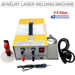 Pulse Sparkle Spot Welder Jewelry Welding Machine Gold Silver Platinum from Us