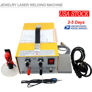 Pulse Sparkle Spot Welder Electric Jewelry Welding Machine Gold Silver 110v 220v