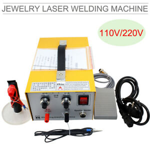 Pulse Sparkle Spot Welder Jewelry Welding Machine Gold Silver Platinum us Stock
