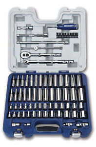 79pc 3 8 Drive Deluxe Tool Set Sae Metric Supertorque Sockets Drive Tools