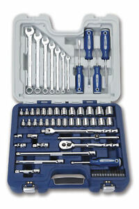 63pc Set 3 8 Drive Supertorque Sae Metric Sockets Screwdrivers Wrenches