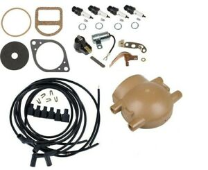 Complete Ignition Tune Up Kit Ford 9n 2n 8n Tractors Front Mount Distributor