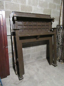 Antique Oak Fireplace Mantel Mission Style 41 5 Inch Opening Salvage