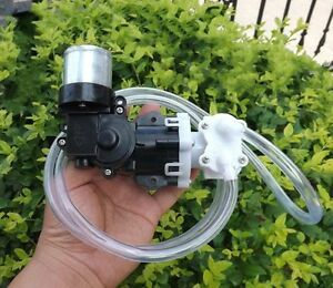 12v Mini High Pressure Water Pump Self priming Pistons Diaphragm Pressure Pump