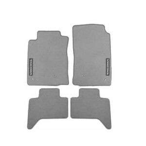 Double Cab Carpet Floor Mats Light Charcoal Gray Genuine For Toyota Tacoma 05 11