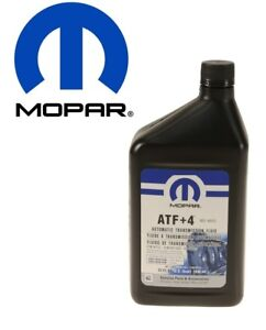 Atf 4 Automatic Transmission Fluid Synthetic 1 Quart Mopar 68218057ab