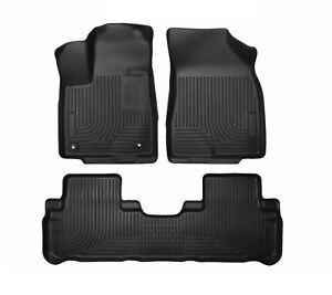 For Toyota Highlander 2014 2017 Set Of 3 Black All Weather Floor Liners Genuine