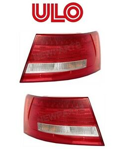 For Audi A6 Quattro S6 Pair Set Of Passenger Right Driver Left Tail Lights Ulo