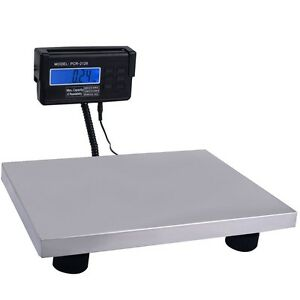 New Heavy Duty Portable Digital Floor Bench Platform Postal Scale Kg lb oz