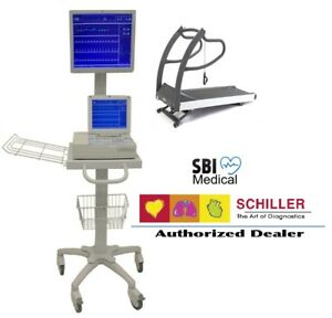 Brand New Schiller Cardiovit At 10 Plus Stress System Complete Free Install Fl