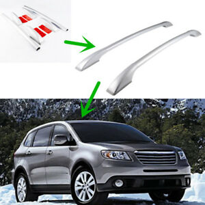 1pair Aluminum Alloy Roof Rack Main Body For Subaru Tribeca 2008 14