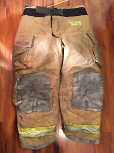 Firefighter Turnout Bunker Pants Globe 44x30 G Extreme Halloween Costume 2005