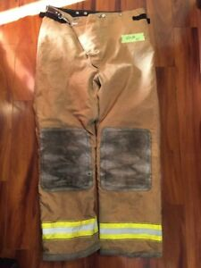 Firefighter Turnout Bunker Pants Globe 42x34 Halloween Costume 2002