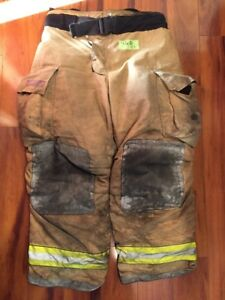 Firefighter Turnout Bunker Pants Globe 42x30 G Extreme Halloween Costume 2007