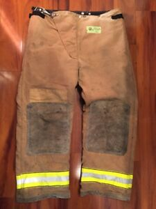Firefighter Turnout Bunker Pants Globe 42x30 Halloween Costume 2002