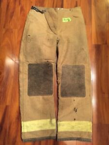 Firefighter Turnout Bunker Pants Globe 38x34 1989 Halloween Costume