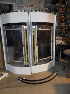 Makino A81nx Horizontal Machining Replacement Doors No Handles Autodoors