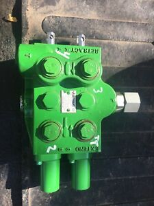 John Deere Dual Mid Remote Control Valve Scv Re248040
