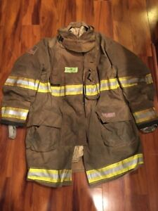 Firefighter Globe Turnout Bunker Coat 52x40 G xtreme Halloween Costume 2015
