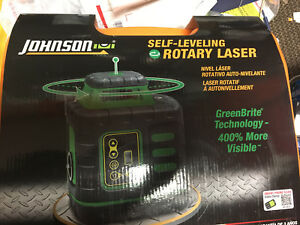 New The Best 8 Rotary Laser Level Johnson 40 6543 Self Leveling Kit