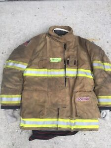 Firefighter Globe Turnout Bunker Coat 48x35 G xtreme Halloween Costume 2016