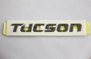 Hyundai Tucson Trunk Logo Genuine Emblem Badge