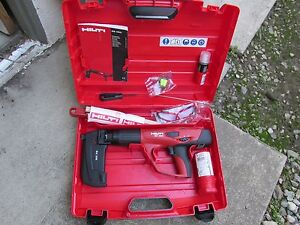Hilti Dx 460 Mx 72 F 8 Powder Actuated Direct Fastening Kit New 646